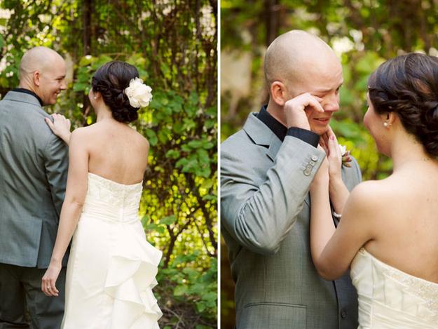 Жених до свадьбы не видит невесту