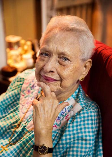 Мумбаи, Индия. В следующем году этой женщине исполнится 100 лет