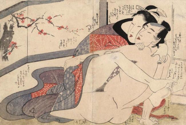Древнее японское порно