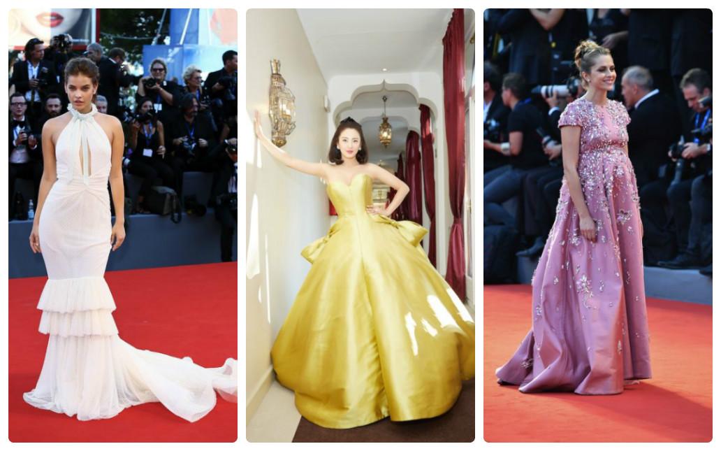 Венеция 2016 лучшие платья