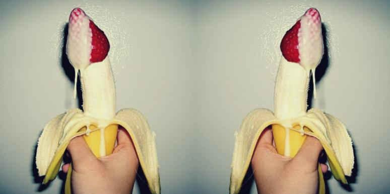 Девки разводят способы дрочения хуя бананом онлайн порно