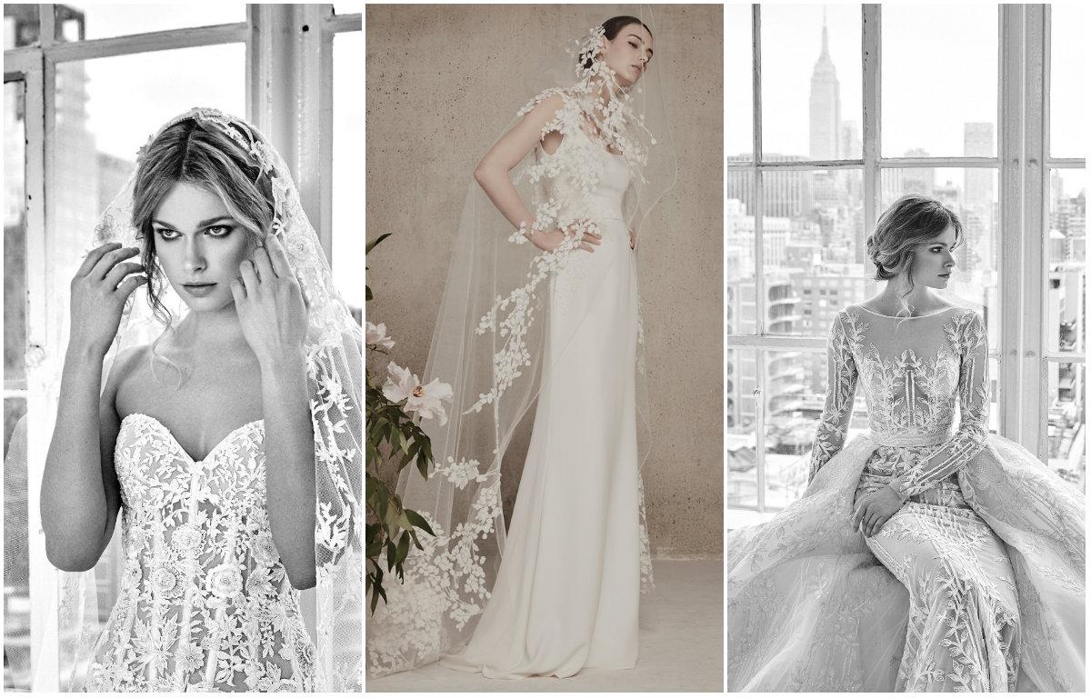 5c1c218e4b1 Авторы самых шикарных свадебных платьев Эли Сааб и Зухаир Мурад впечатлили  новыми коллекциями