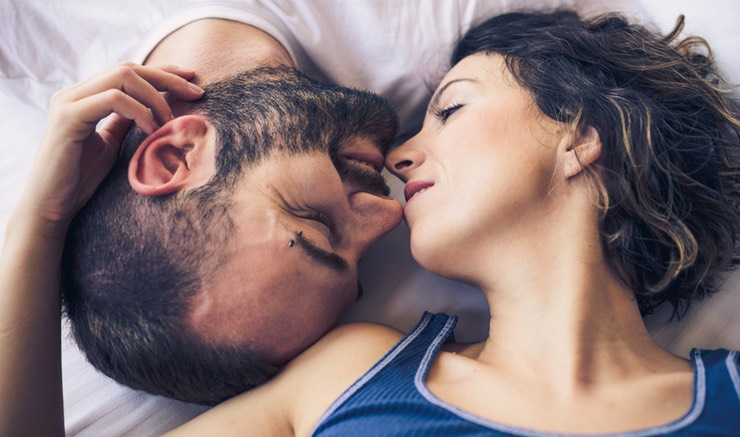 Первый секс с партнром